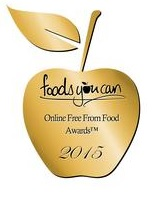 foods you can free from food awards 2015