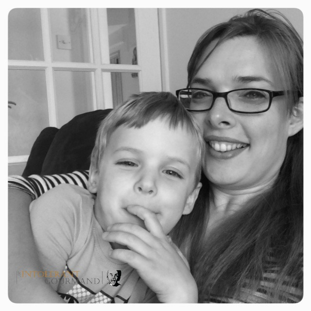 Callum & mummy - my hero! Surviving and thriving in spite of severe eczema and multiple severe allergies! www.intolerantgourmand.com