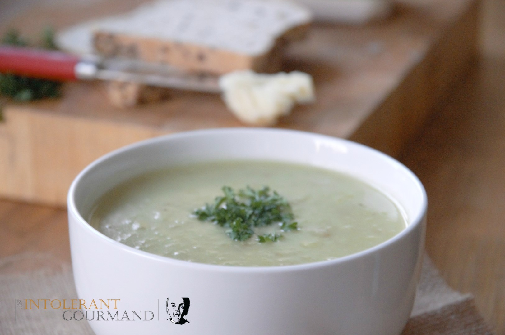 Potato Leek Soup - a classic and iconic recipe, that is the ultimate in comfort food! Naturally gluten-free and packed with nutrients! www.intolerantgourmand.com
