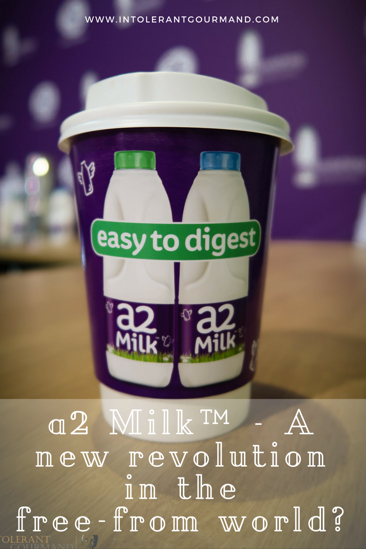 a2 Milk A new revolution in the free from world - a2 milk is revolutionising the way milk is viewed, particularly for those with a perceived lactose intolerance! www.intolerantgourmand.com