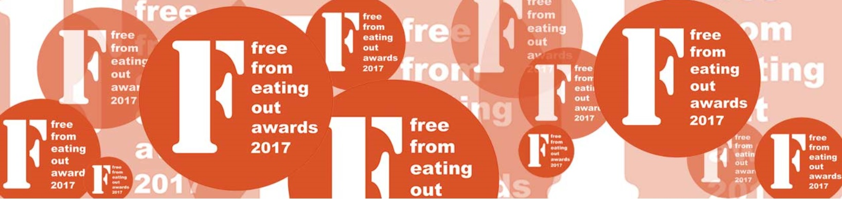 FFEO17 - Free From Eating Out Awards 2017. It's THE awards for restaurants, pubs, cafes etc to showcase their fantastic free from menus, and their understanding of allergies and cross contamination! www.intolerantgourmand.com
