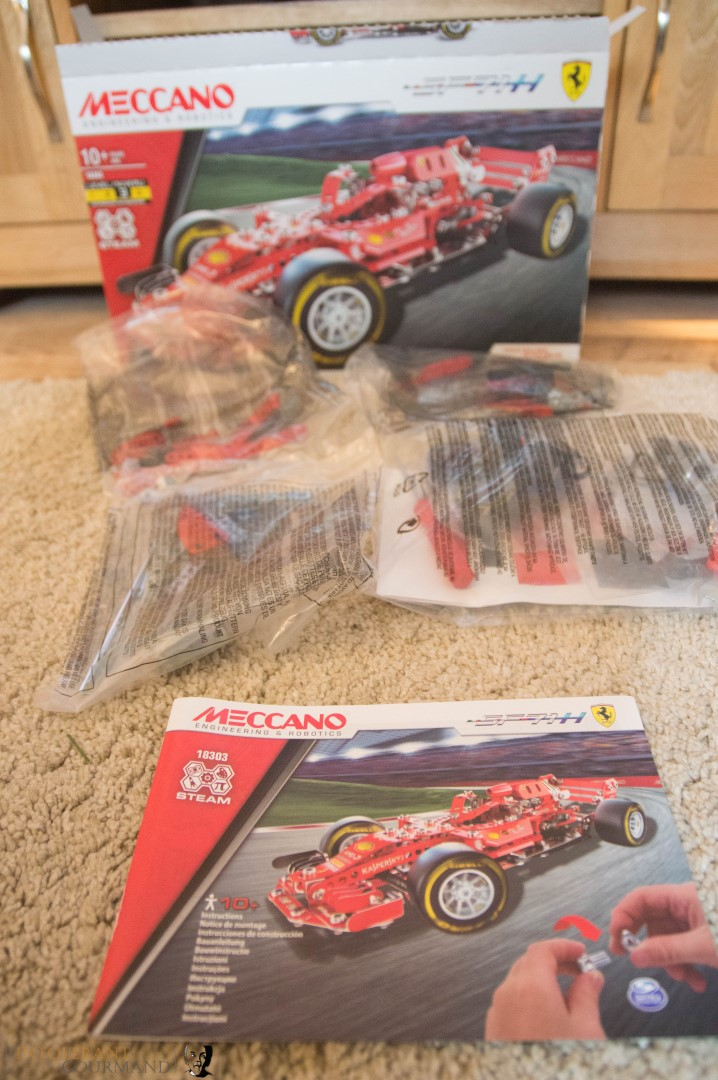 Meccano Ferrari SF71H - The perfect present for a car obsessed 10 year old, or in fact any big kid! www.intolerantgourmand.com