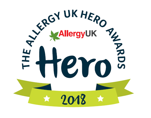 Allergy UK Hero Awards - celerating the special people in the allergy world that are making a difference, supporting others, the bravery of those suffering, and more! www.intolerantgourmand.com