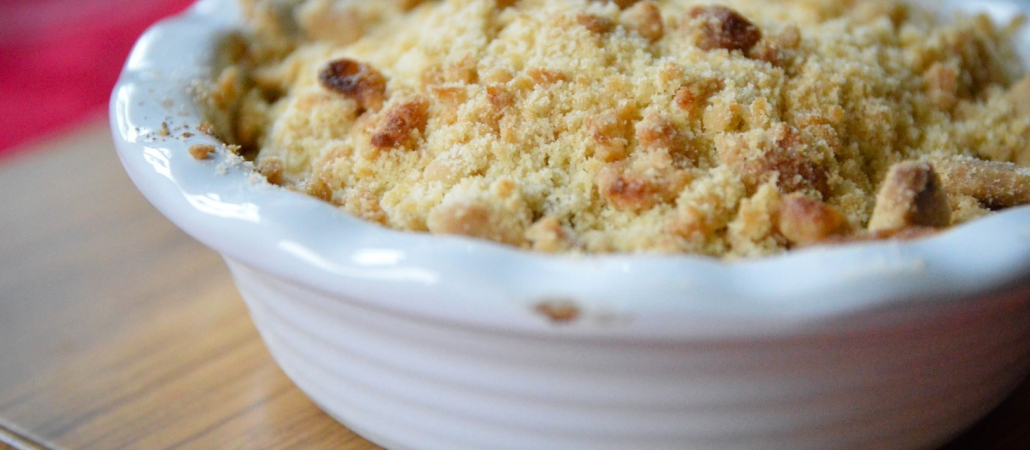 The best ever gluten-free & dairy-free apple crumble